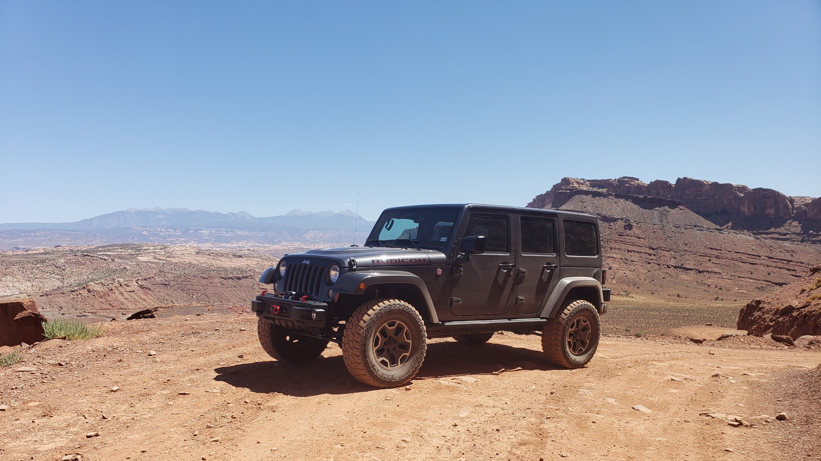 2016 Jeep Wrangler JKU Rubicon Hard Rock 4dr 4x4