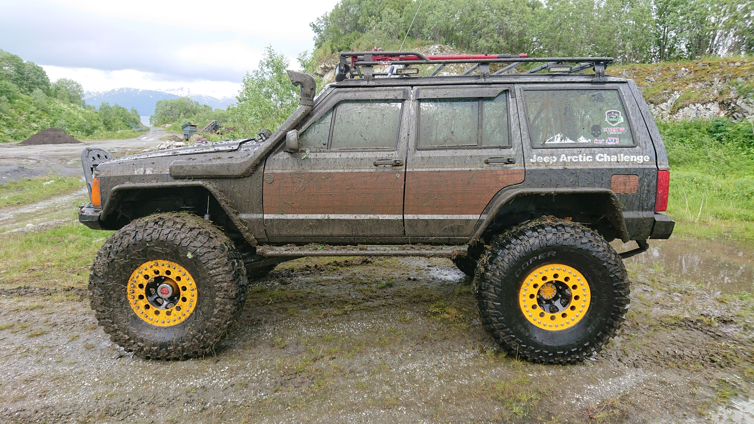 Jeep Xj Homemade Fender Flares
