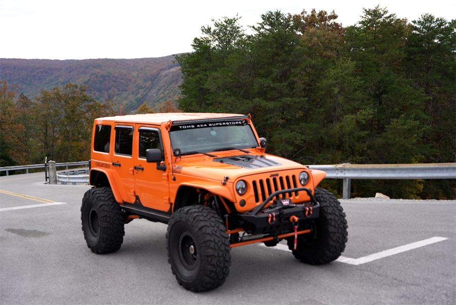 2012 Jeep Wrangler Jk Unlimited Rubicon W Color Matched Hardtop