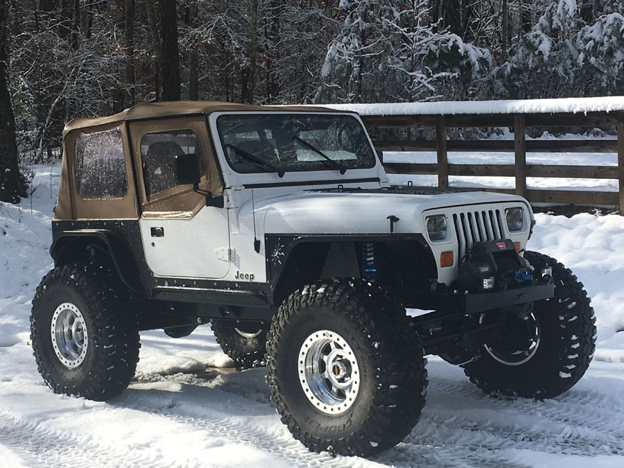 1995 Jeep Wrangler YJ Custom
