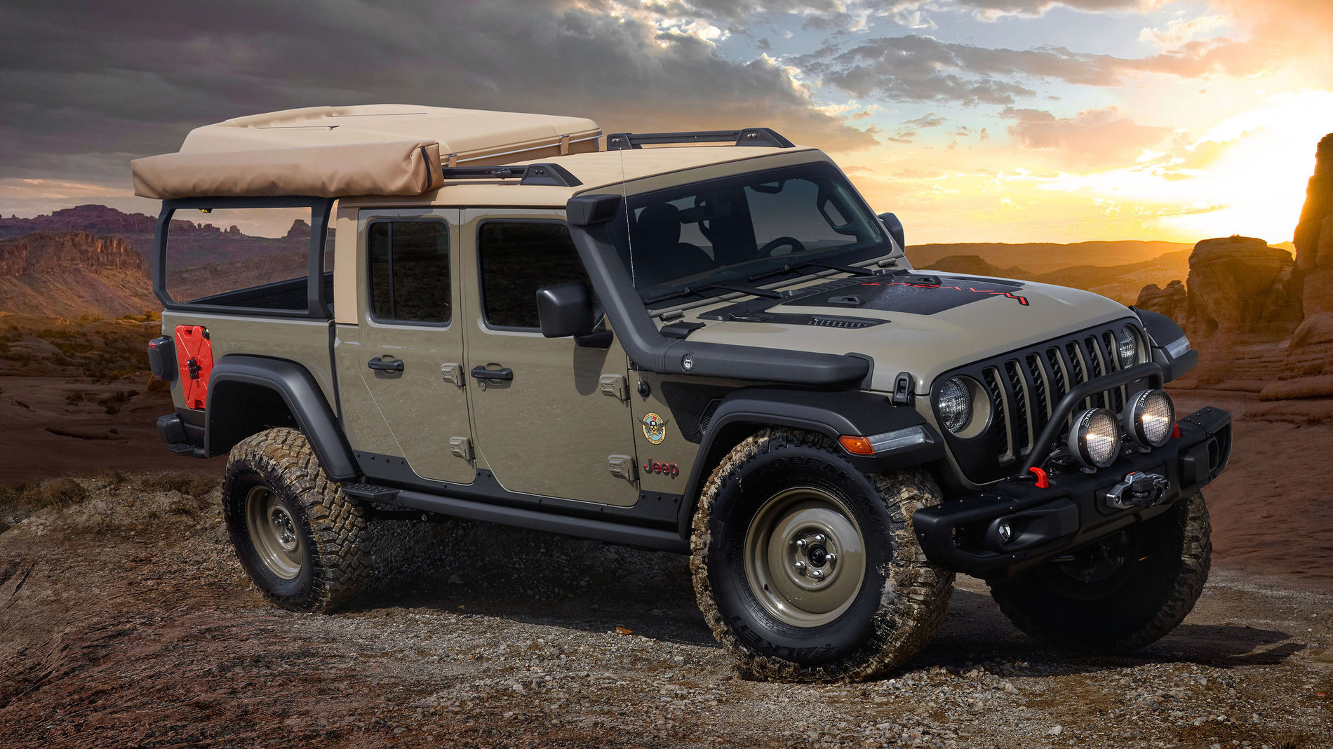"Jeep Gladiator ""Way-Out"""