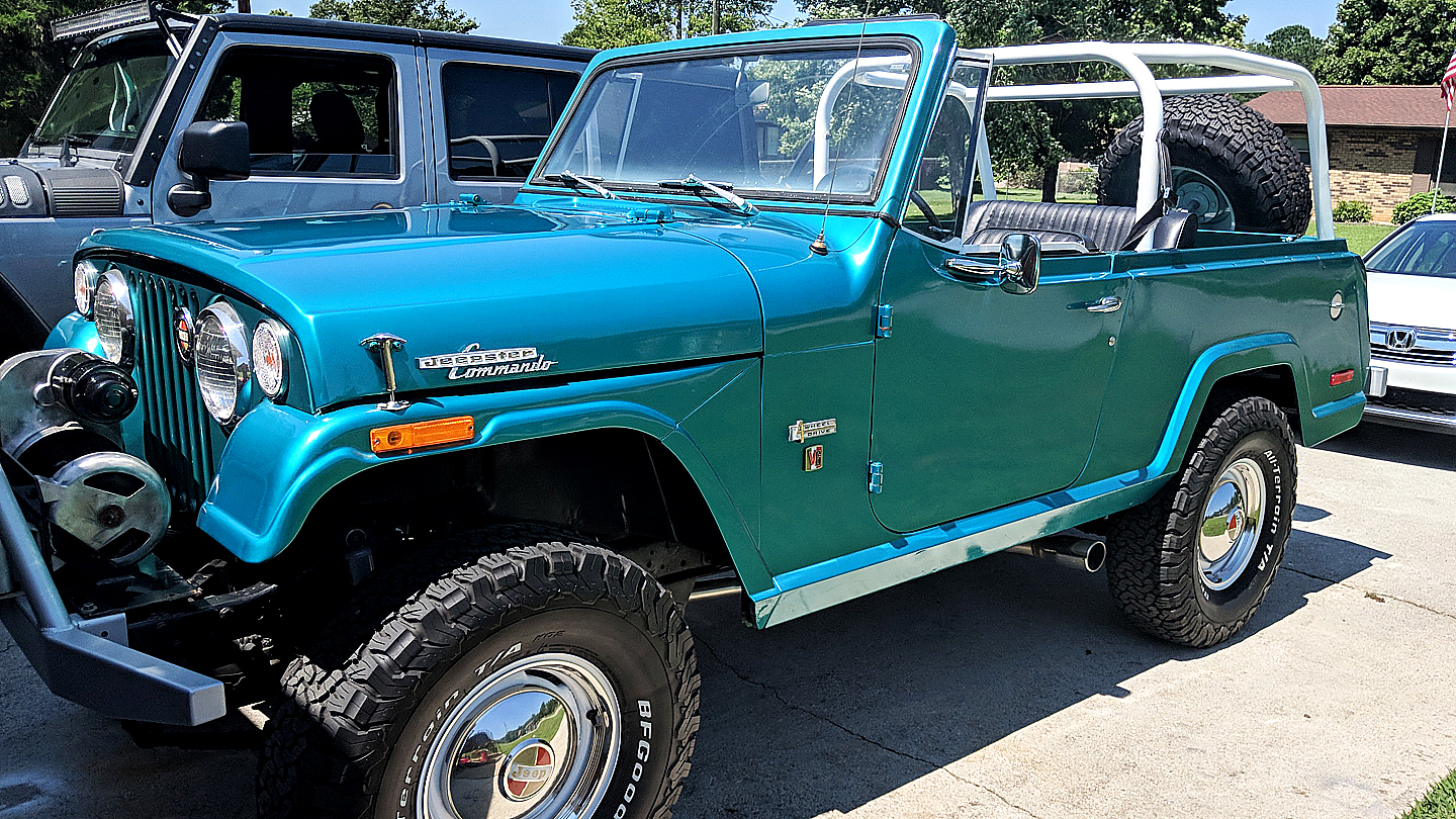1970 Jeep Ster Commando
